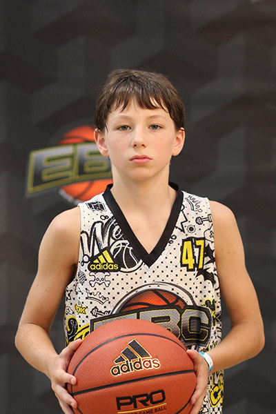 Alex Elston at EBC Jr. All-American Camp 2018