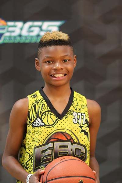 Isaiah Davis at EBC Jr. All-American Camp 2018