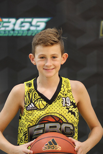 Hudson Greer at EBC Jr. All-American Camp 2018