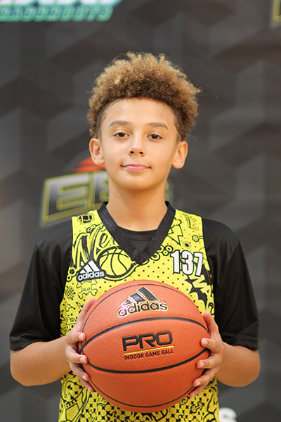 Jordan Askew at EBC Jr. All-American Camp 2018