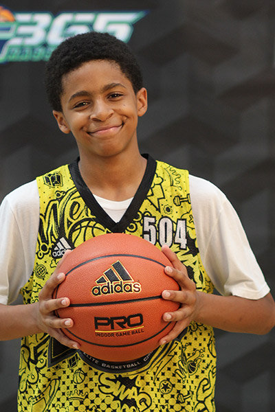 Kellen Hampton at EBC Jr. All-American Camp 2018