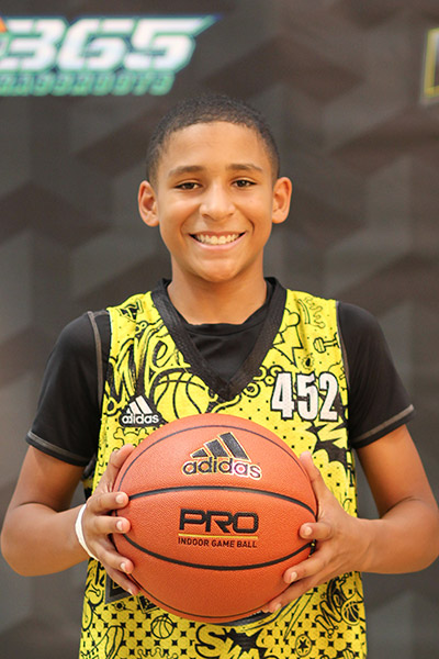 Gavin Sykes at EBC Jr. All-American Camp 2018