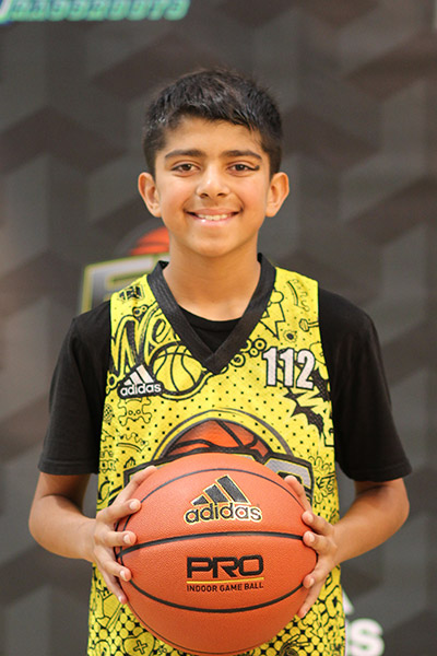 Sajjin Sidhu at EBC Jr. All-American Camp 2018