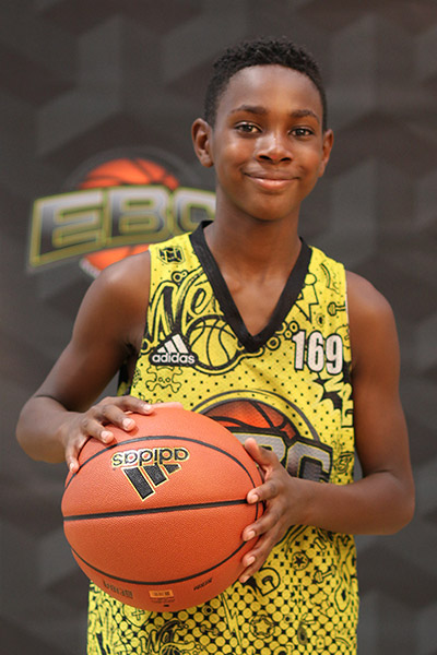 Justice Griffith at EBC Jr. All-American Camp 2018