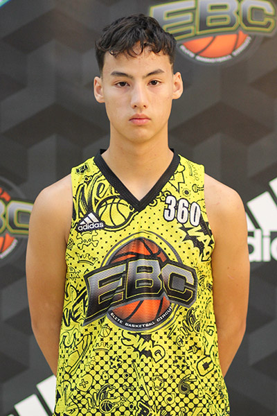 Loic Prudhomme at EBC Jr. All-American Camp 2018