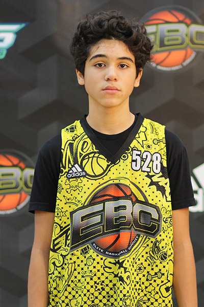 Gabriel Espinosa at EBC Jr. All-American Camp 2018
