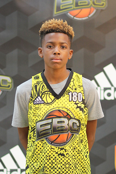 Terrell Moorer Jr. at EBC Jr. All-American Camp 2018
