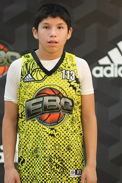 Nicholas Sanchez at EBC Jr. All-American Camp 2018