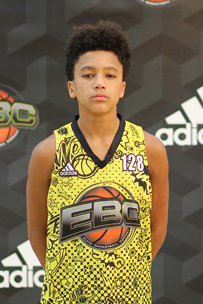 Noah Allen at EBC Jr. All-American Camp 2018
