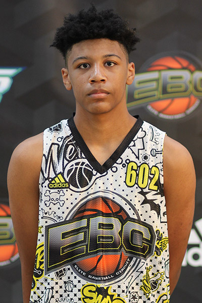 Sean Oliver at EBC Jr. All-American Camp 2018