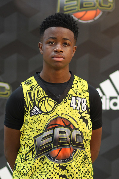 Robert Russ at EBC Jr. All-American Camp 2018