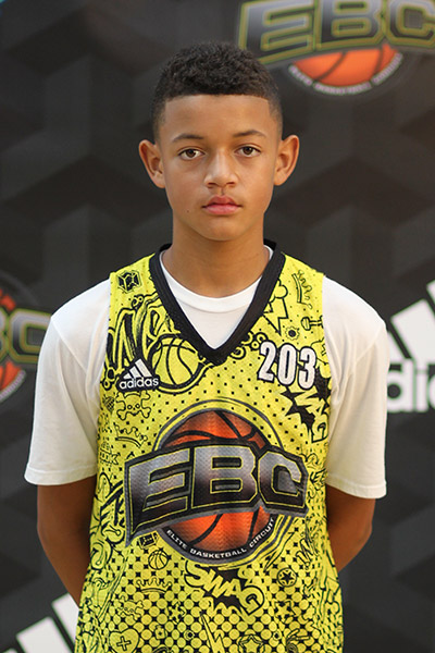 Trent Turner at EBC Jr. All-American Camp 2018