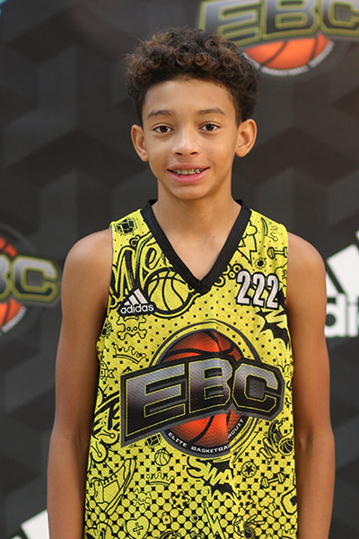 Quentin Rhymes at EBC Jr. All-American Camp 2018