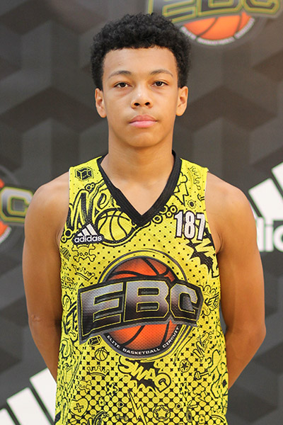 Kayden Lamebull-Ingram at EBC Jr. All-American Camp 2018