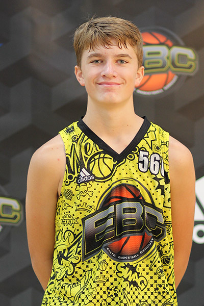 Tyler Parr at EBC Jr. All-American Camp 2018