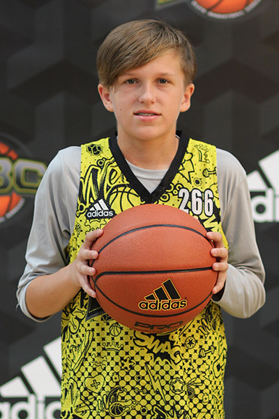 Ty Dahlin at EBC Jr. All-American Camp 2018