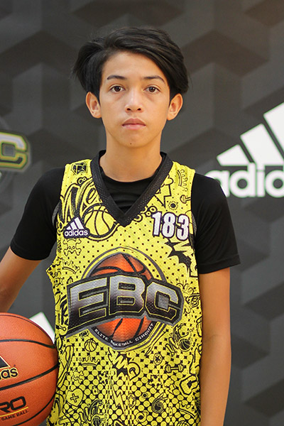 Keaka Kauhane at EBC Jr. All-American Camp 2018