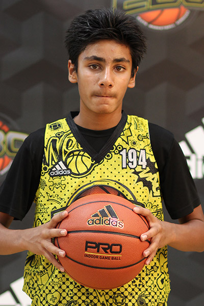 Armaan Damani at EBC Jr. All-American Camp 2018
