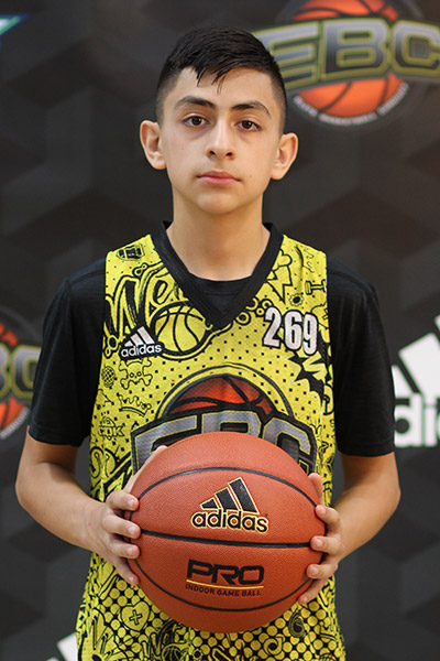 Diego Miscles at EBC Jr. All-American Camp 2018