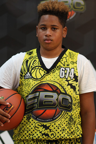 Cortevious Taylor at EBC Jr. All-American Camp 2018