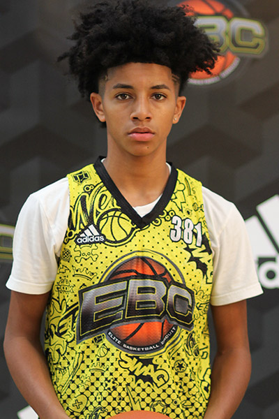 David Matthews at EBC Jr. All-American Camp 2018