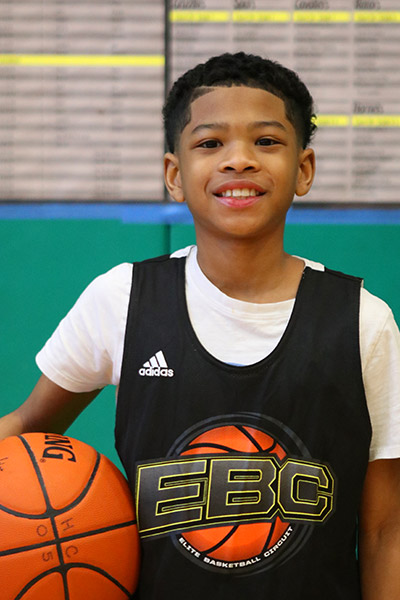 Heaven Chea at EBC Jr. All-American