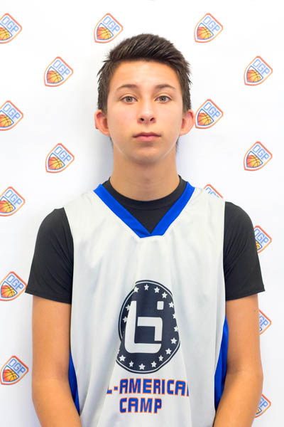 Michael Hoffmeier at Ballislife Jr. All-American Camp 2014