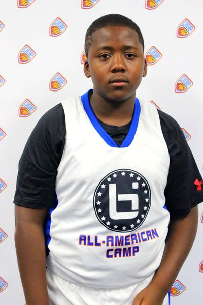 Derrick Nettles Jr. at Ballislife Jr. All-American Camp 2014