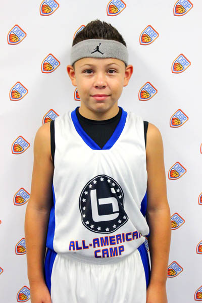 Kobe Schriver at Ballislife Jr. All-American Camp 2014