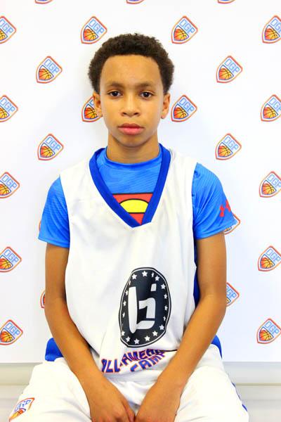 Dorian Stewart at Ballislife Jr. All-American Camp 2014