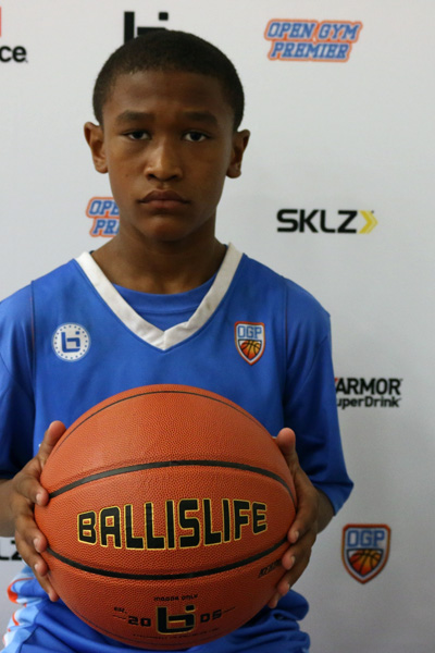 Leon Neal at Ballislife Jr. All-American Camp 2015
