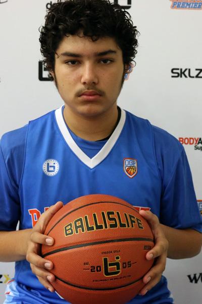 Deven Murguia at Ballislife Jr. All-American Camp 2015