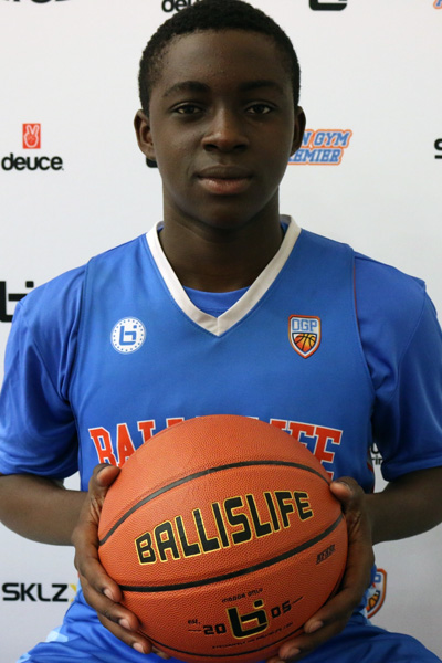 Obinna Anyanwu at Ballislife Jr. All-American Camp 2015