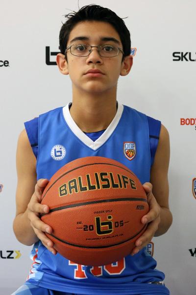 Adrian Galindo at Ballislife Jr. All-American Camp 2015