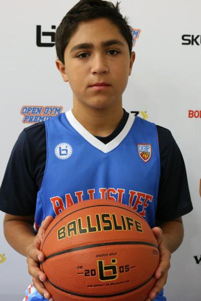 Marcos Putnam at Ballislife Jr. All-American Camp 2015