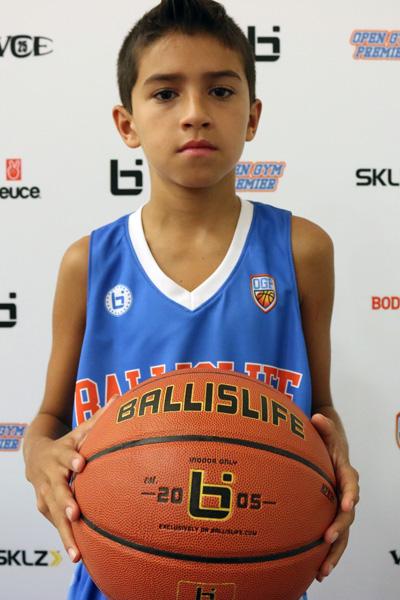 Mateo Putnam at Ballislife Jr. All-American Camp 2015