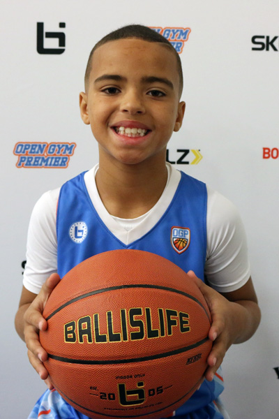 Devin Lewis at Ballislife Jr. All-American Camp 2015