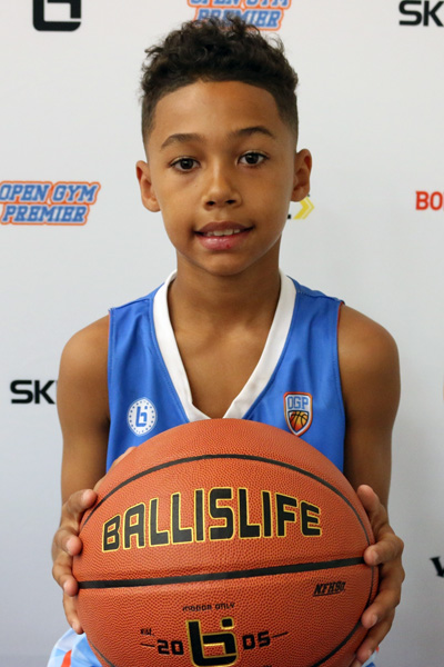 Noel Davis Jr. at Ballislife Jr. All-American Camp 2015
