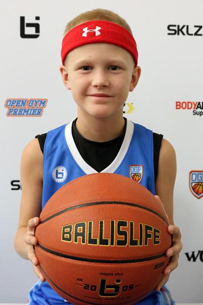 Justin Courneya at Ballislife Jr. All-American Camp 2015
