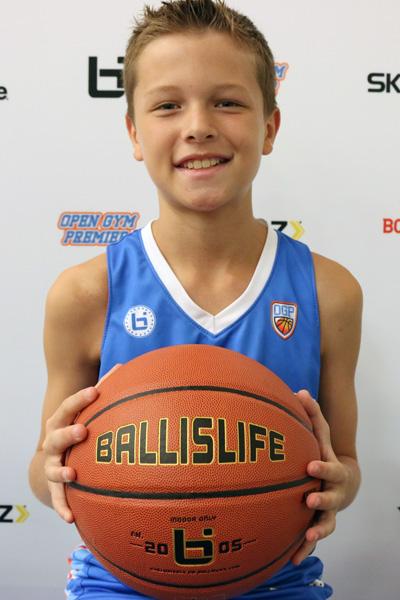 Jackson Gray at Ballislife Jr. All-American Camp 2015