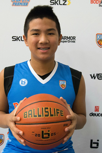 Brandon Szeto at Ballislife Jr. All-American Camp 2015