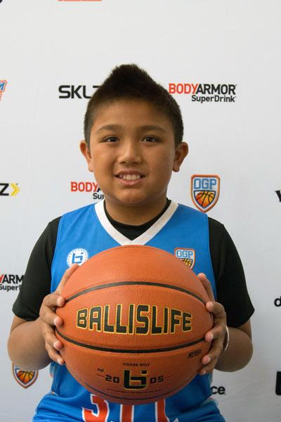 Nicholas Cervantes at Ballislife Jr. All-American Camp 2015