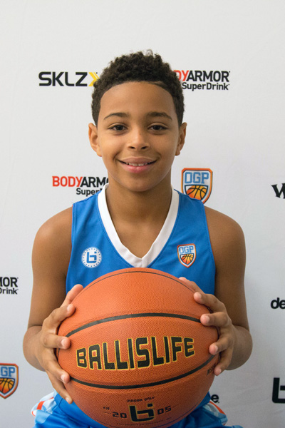 Benjamin Roseborough at Ballislife Jr. All-American Camp 2015