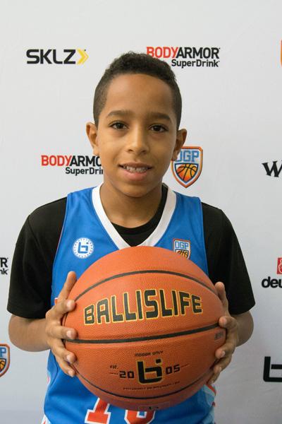 Rashaun Johnson at Ballislife Jr. All-American Camp 2015