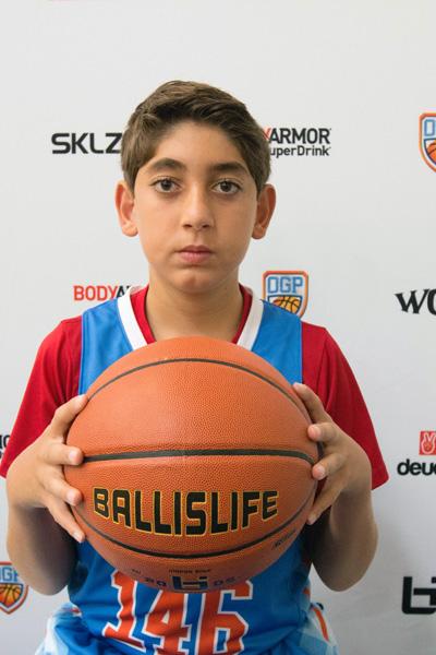 Arman Madi at Ballislife Jr. All-American Camp 2015