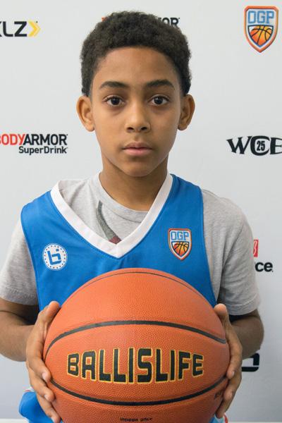 Abdul-Noor Beyah Jr. at Ballislife Jr. All-American Camp 2015