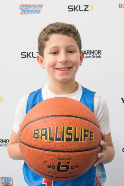 Ben Rosenberg at Ballislife Jr. All-American Camp 2015