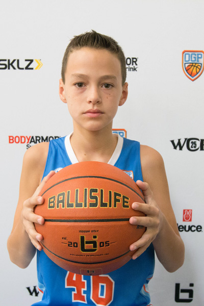 Garrison Sherman at Ballislife Jr. All-American Camp 2015