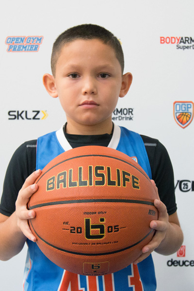Max Meza at Ballislife Jr. All-American Camp 2015