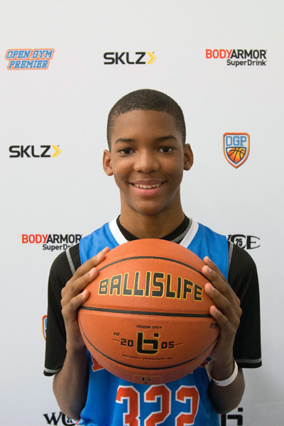 Ziaire Williams at Ballislife Jr. All-American Camp 2015